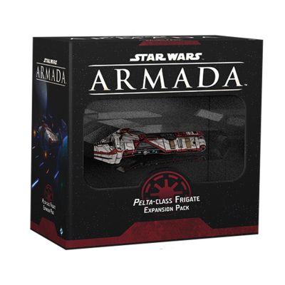 Star Wars: Armada Fregatte der Pelta-Klasse Vorderseite...