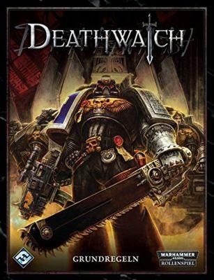 WH40k: Deathwatch Regelbuch, deutsch Cover