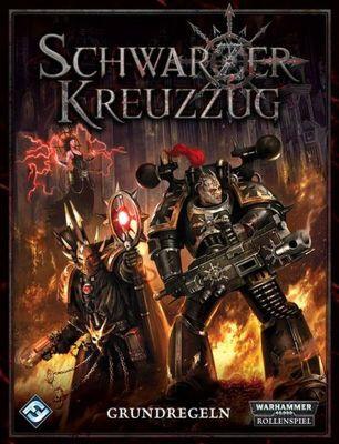 Schwarzer Kreuzzug, Grundregeln, deutsch, Cover