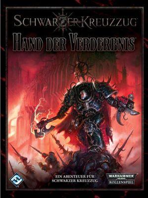 Schwarzer Kreuzzug, Hand der Verderbnis, deutsch, Cover