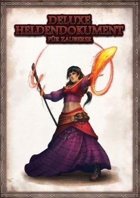 DSA Deluxe Heldendokument für Zauberer, Charakterbögen