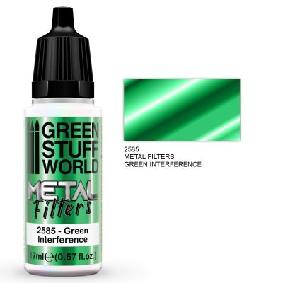 Metal Filters - Green Interference