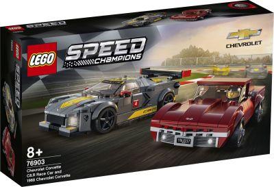 LEGO Speed Champions - 76903 Chevrolet Corvette C8-R &...
