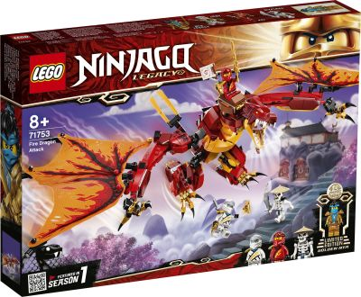 LEGO NINJAGO - 71753 Kais Feuerdrache