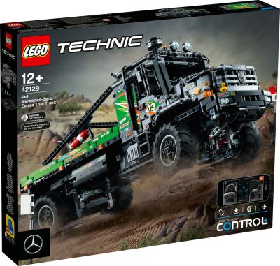 LEGO Technic - 42129 4x4 Mercedes-Benz Zetros Offroad-Truck