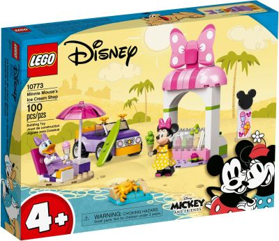LEGO Mickey and Friends - 10773 Minnie Mouse's Eisdiele -...