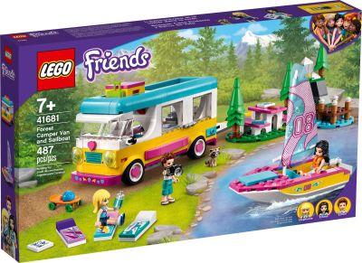 LEGO Friends - 41681 Wohnmobil- und Segelbootausflug - Front