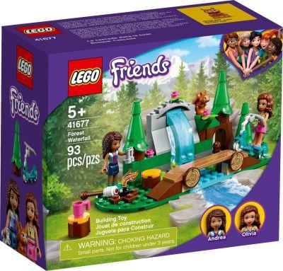LEGO Friends - 41677 Wasserfall im Wald - Front