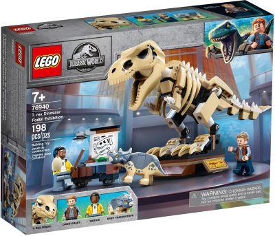 LEGO Jurassic World - 76940 T. Rex-Skelett in der...