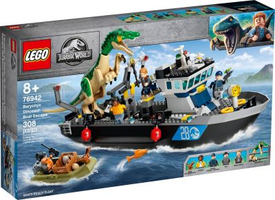 LEGO Jurassic World - 76942 Flucht des Baryonyx