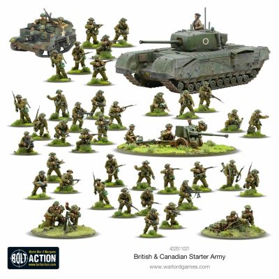 British & Canadian Army (1943-45) Starter Army details...