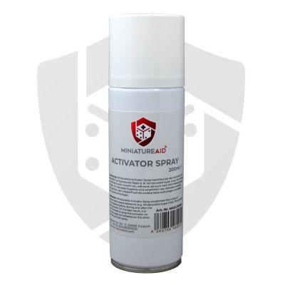 Activator Spray Frontansicht Miniature Aid