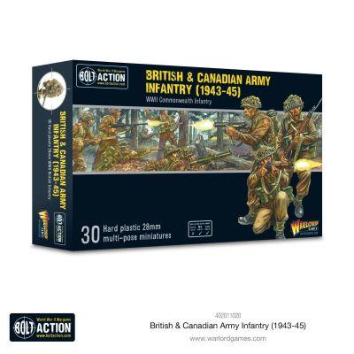 British & Canadian Army Infantry (1943-45) inhalt aufbau...