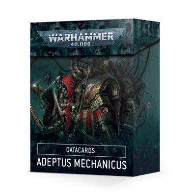 Datacards: Adeptus Mechanicus (Englisch)