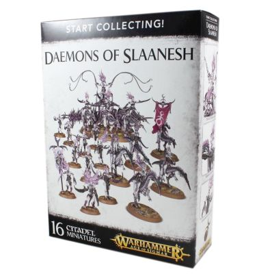 Start Collecting! Daemons of Slaanesh, Chaos Daemons,...