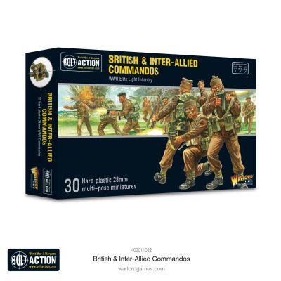 British & Inter-Allied Commandos verpackung vorderseite...