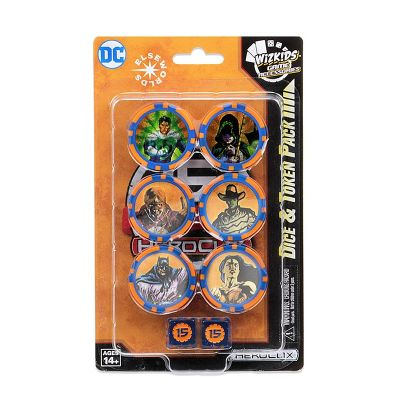 DC Elseworlds 15th Anniversary Heroclix Dice/Token Pack...