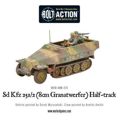Sd.Kfz 251/2 Ausf D (8cm Granatwerfer) Half Track...