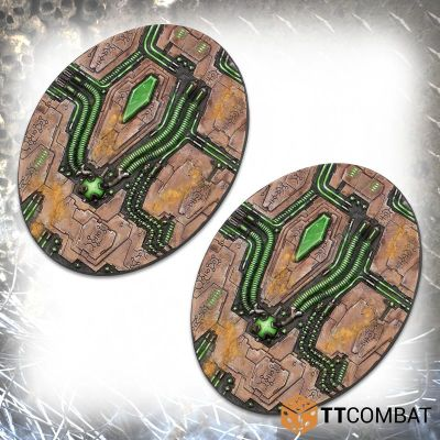 Tomb World Oval Bases (120mm x 93mm)