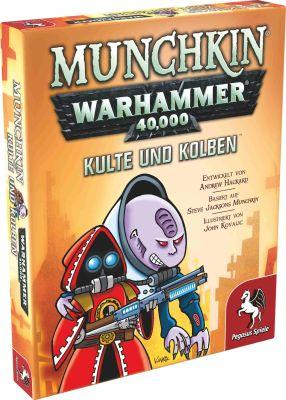 Munchkin Warhammer 40.000: Kulte und Kolben (Erweiterung)...
