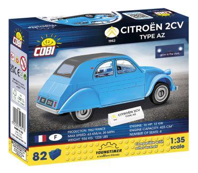 COBI - 24510 Citroen 2cv Type A (1949)