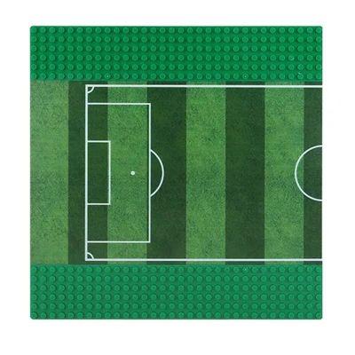 Wange Grundplatte Fußballplatz Hälfte 32 x 32