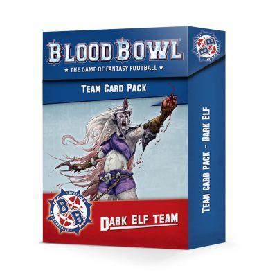 Blood Bowl: Dark Elf Team Card Pack