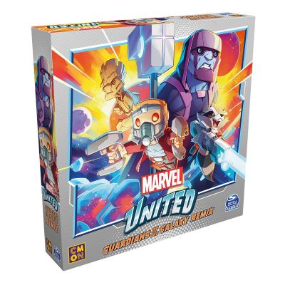 Marvel United Guardians of the Galaxy Remix verpackung...
