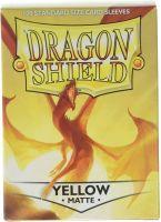 Dragon Shield Standard Sleeves - Matte Yellow (100 Sleeves)