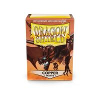 Dragon Shield Standard Matte Sleeves - Copper 'Draco Primus' (100 Sleeves)