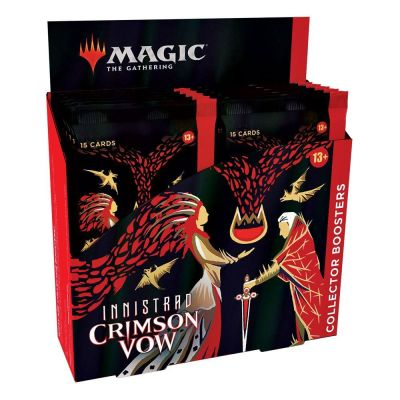 Crimson Vow Collector Booster Display Englisch Verpackung