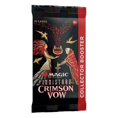 Crimson Vow Collector Booster Packung Englisch