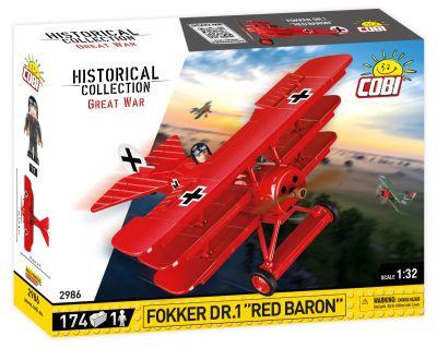 COBI-2986 Fokker DR.1 Red Baron