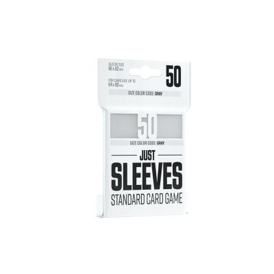 Just Sleeves – Standard Card Game White