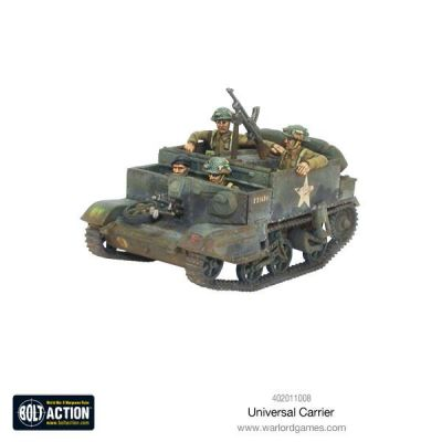 Universal Carrier aufbau details vorderansicht