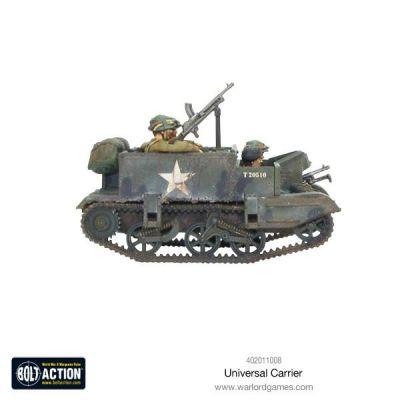 Universal Carrier aufbau details seitenansicht