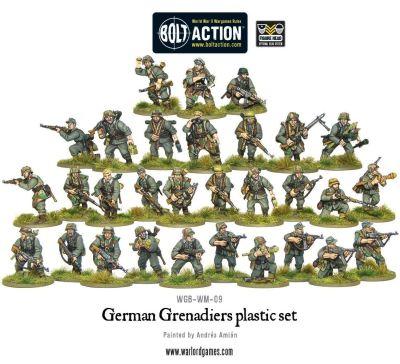 German Grenadiers inhalt aufbau details miniaturen figuren