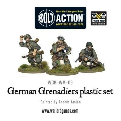 German Grenadiers inhalt aufbau details miniaturen figuren auswahl