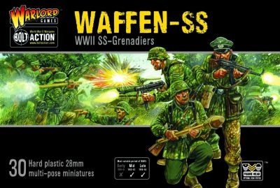 Waffen SS verpackung vorderseite cover
