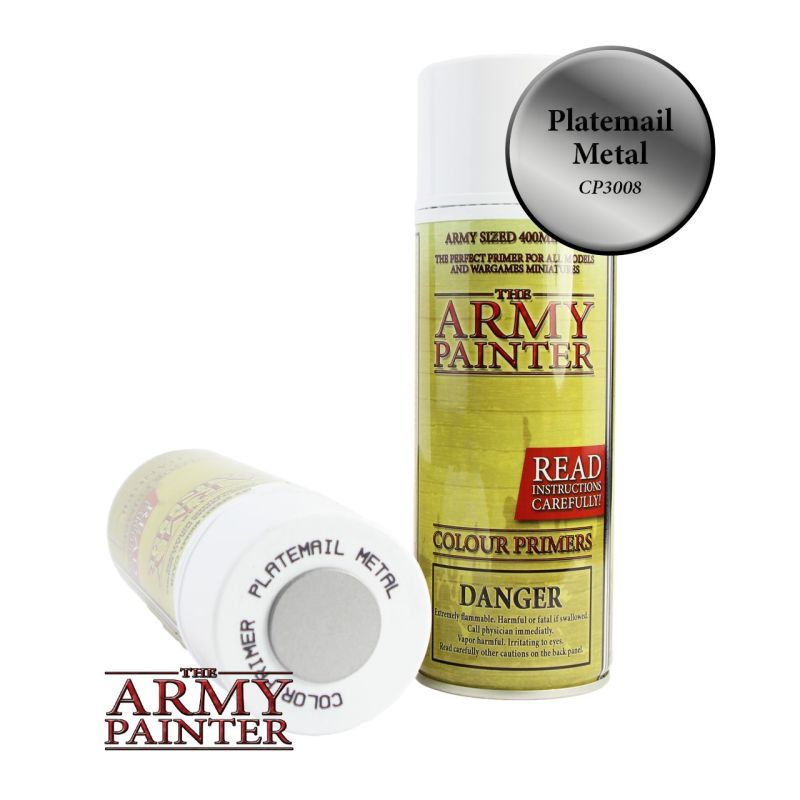 The Army Painter: Color Primer, Platemail Metal