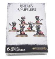 Gloomspite Gitz Sneaky Snufflers mit Snufflesquigs