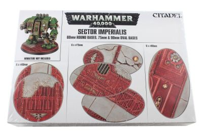 Sector Imperialis: Rundbases (60 mm) & Ovalbases (75 & 90...