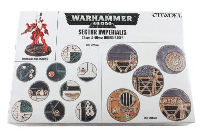 Sector Imperialis: Rundbases (25 & 40 mm)