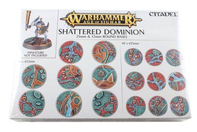 Shattered Dominion: Rundbases (25 mm & 32 mm)