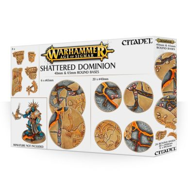 Shattered Dominion: Rundbases (40 mm & 65 mm)