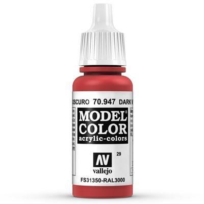 70.947 Dark Vermillion Red, Vallejo