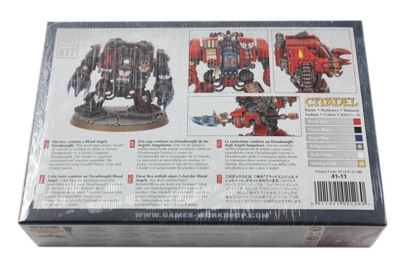 Furioso Dreadnought/Death Company Dreadnought