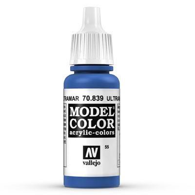 70.839 Ultramarine Blue, Vallejo