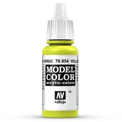70.954 Yellow Green, Vallejo