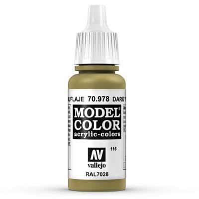 70.978 Dark Yellow, Vallejo